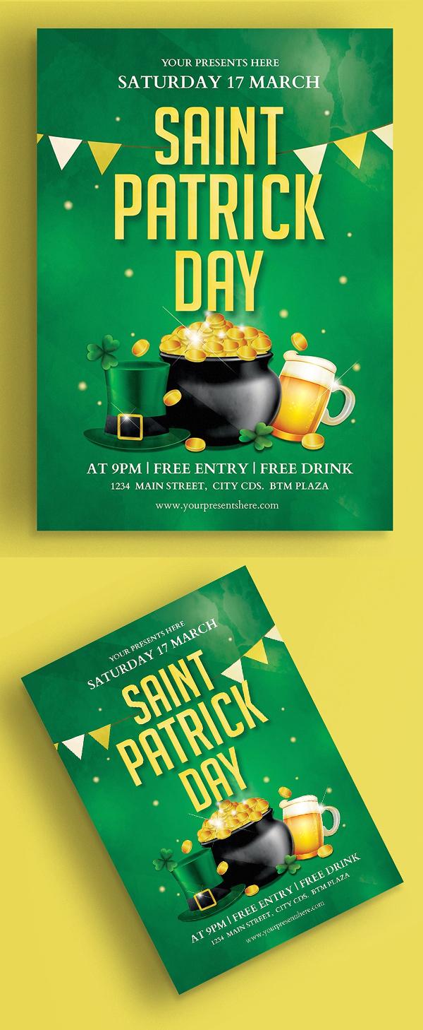 Saint Patrick Flyer Vol.2