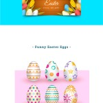 Collection of Free Easter Graphics – Banners, Cards, Eggs and more