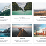 Freebie: 3 Amazing Bootstrap 4 Gallery Templates