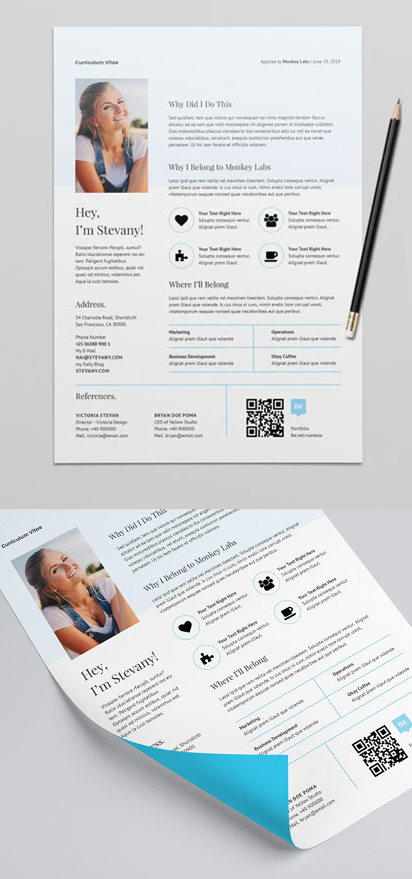 Freebie: Epic Design Resume