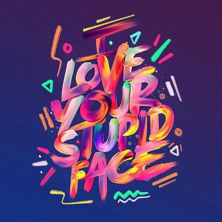 35 Remarkable Lettering and Typography Designs for Inspiration - 33