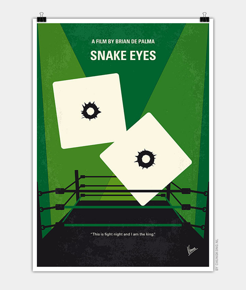 Snake Eyes Minimal Movie Posters - 11