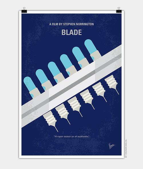 Blade Minimal Movie Posters - 12