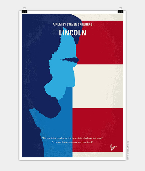 Lincoln Minimal Movie Posters - 14