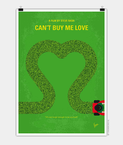 Cant Buy Me Love Minimal Movie Posters - 15
