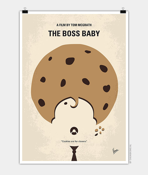 Boss Baby Minimal Movie Posters - 2