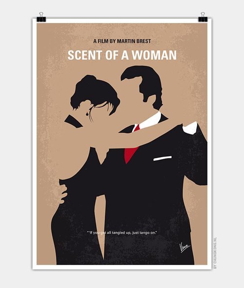 Scent of a Woman Minimal Movie Posters - 20