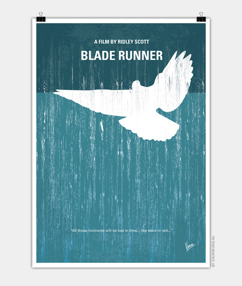 Blade Runner Minimal Movie Posters - 25