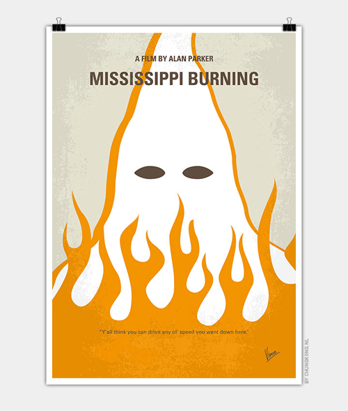 Mississippi burning Minimal Movie Posters - 27