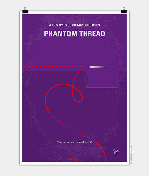 Phantom Thread Minimal Movie Posters - 4