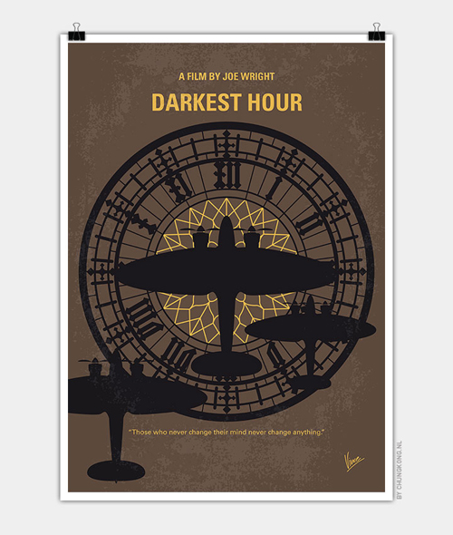 Darkest Hour Minimal Movie Posters - 7