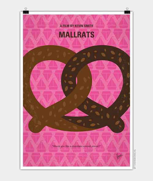 Mallrats Minimal Movie Posters - 9