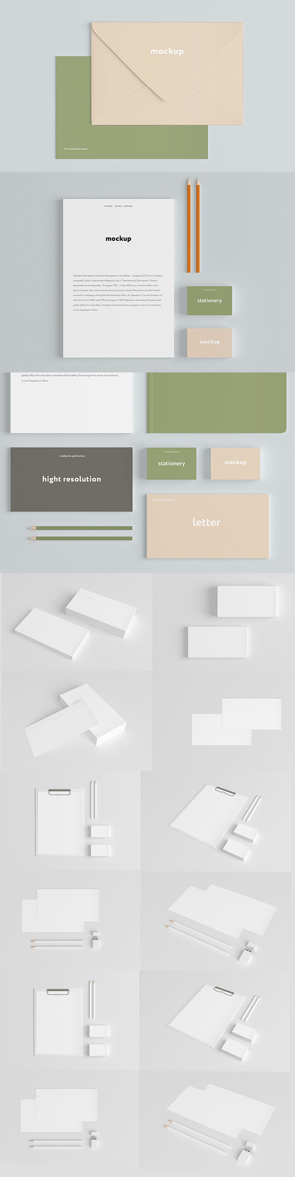 Branding Mock-Up Set