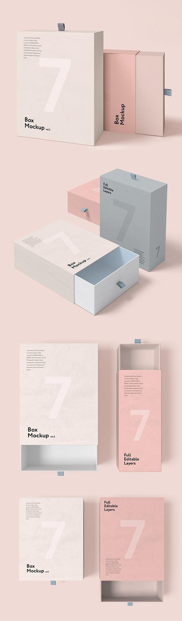 Box Mockup vol.2