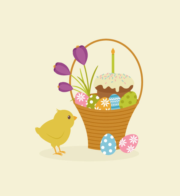 How to Create an Easter Basket Illustration in Adobe Illustrator