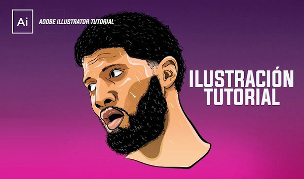 How to Creating an Illustration of Paul George in Illustrator