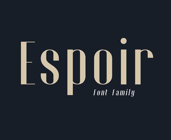 Espoir Free Font