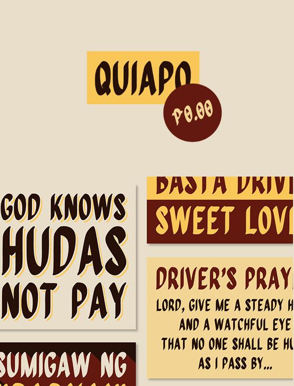Quiapo Brush Free Font