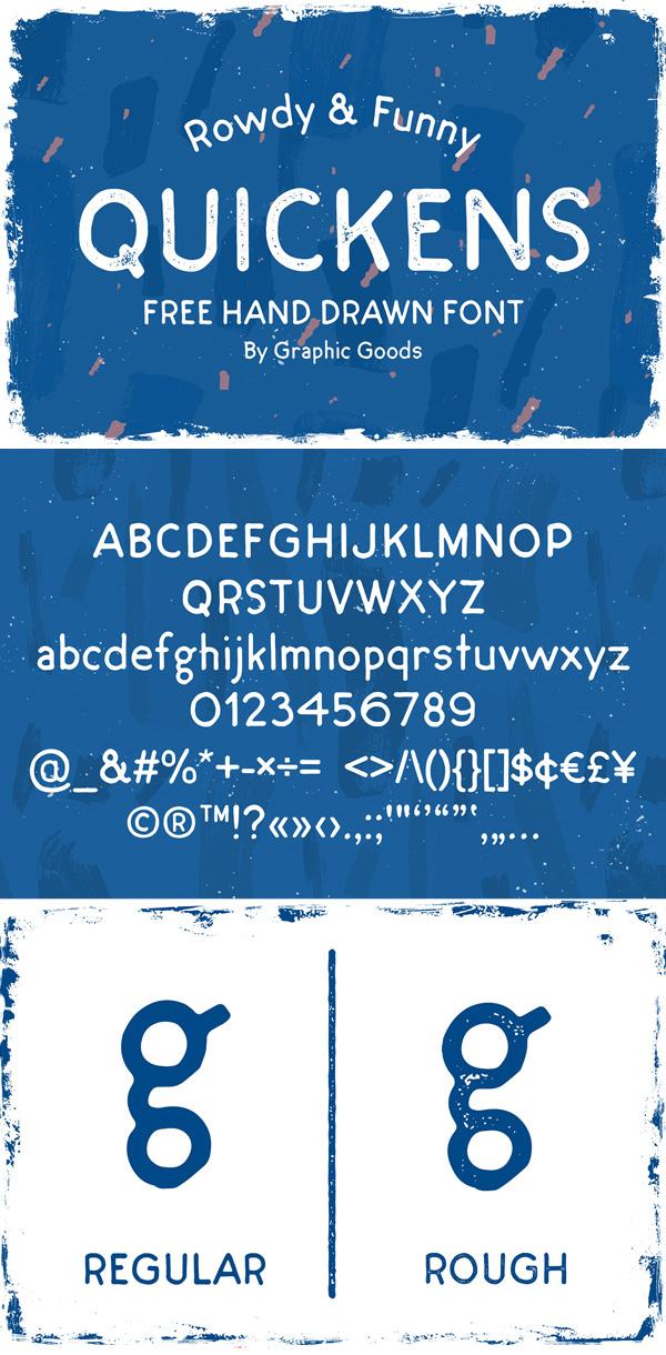 Quickens Free Script Font
