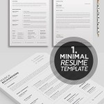 25 Best Minimalism Resume Templates 2018