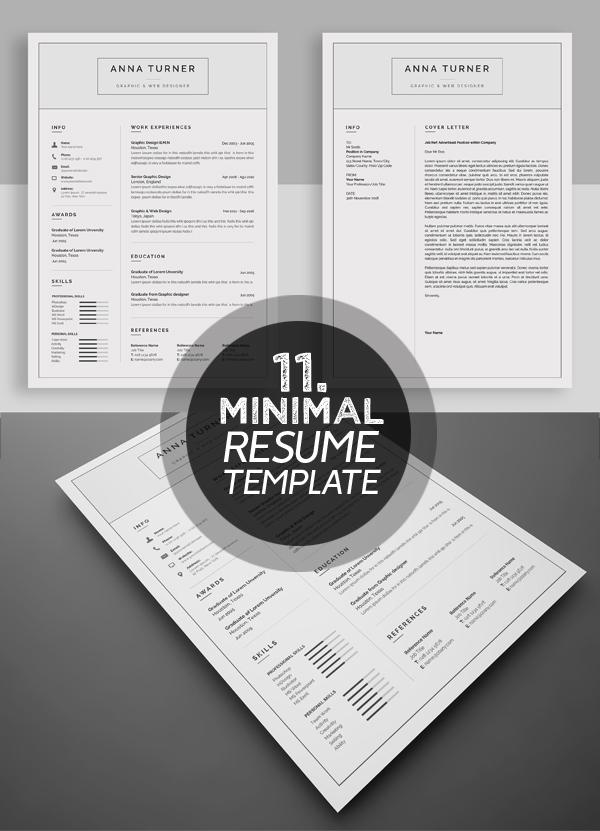 Attractive Resume / CV Template