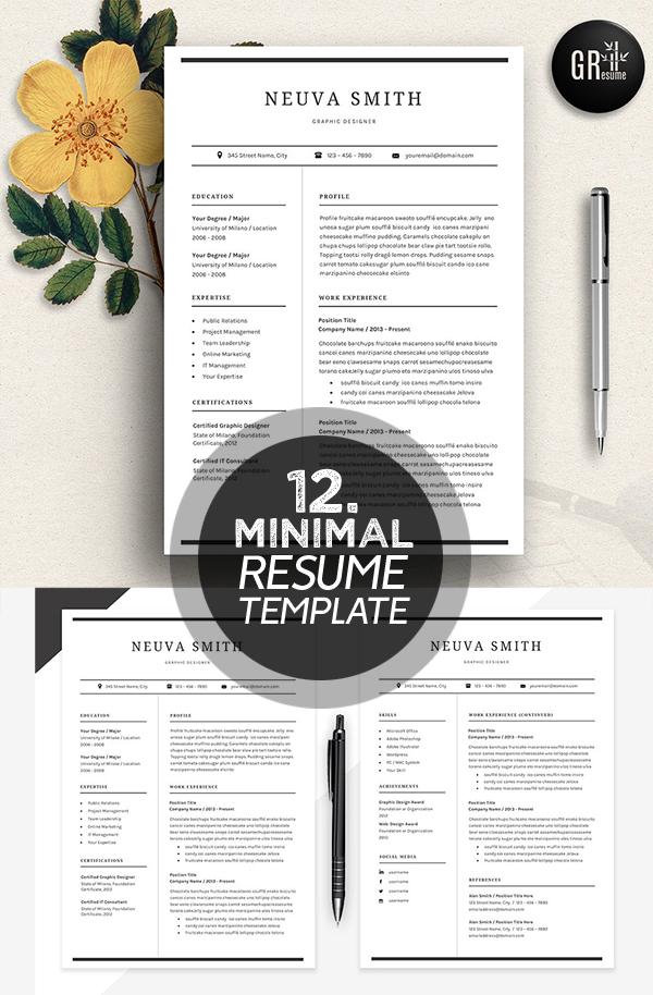 Resume Template | CV Template - 10
