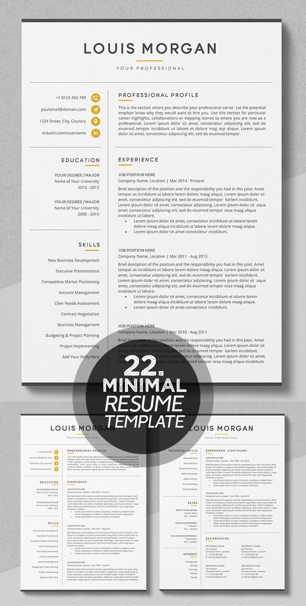 Resume / CV - The Louis