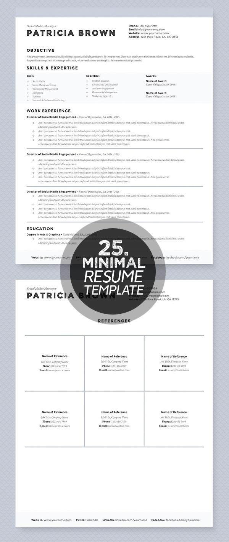 Clean Resume Template Pkg