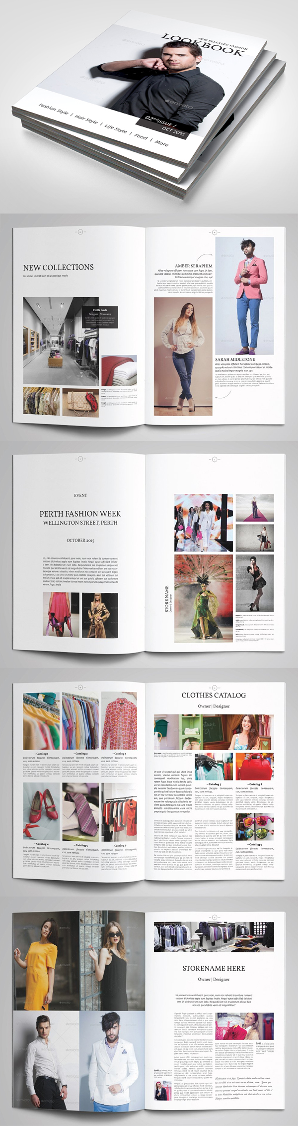Professional Catalogs Template
