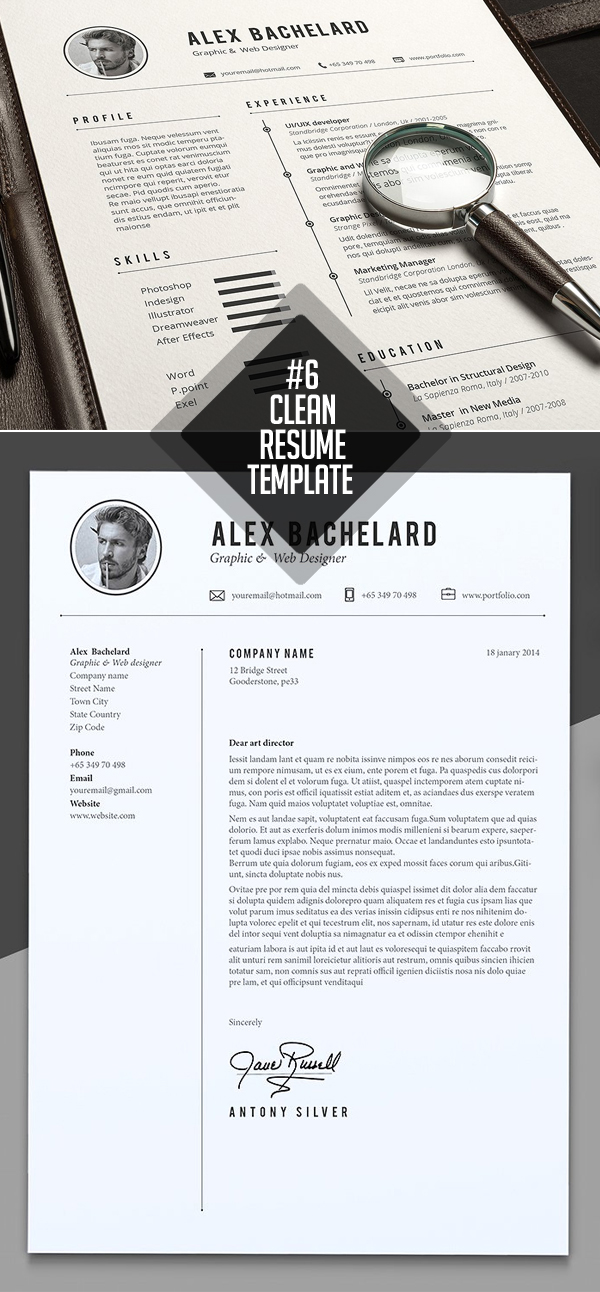 Alex Resume / CV Template