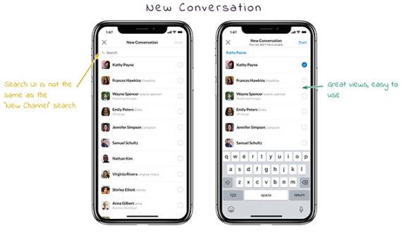 Slack iPhone UI - Preview 03