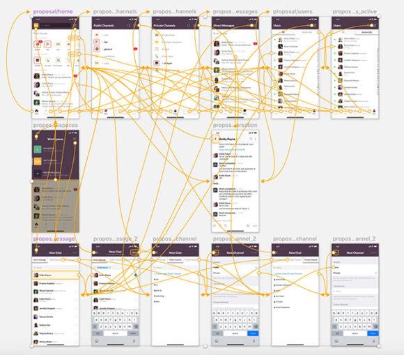 Slack iPhone UI - Preview 04