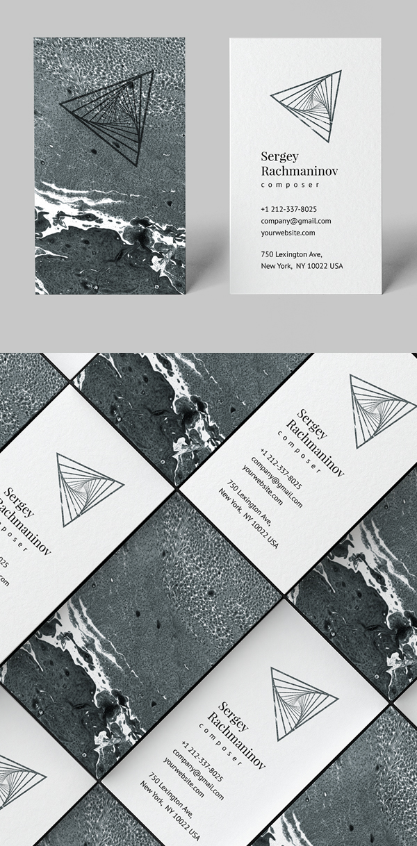 Unique Business Card Template
