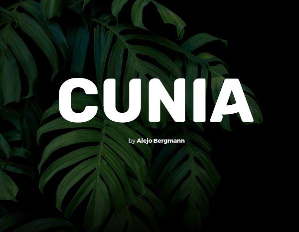 Cunia Free Font