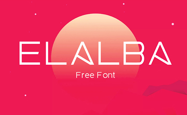 Elalba Free Font