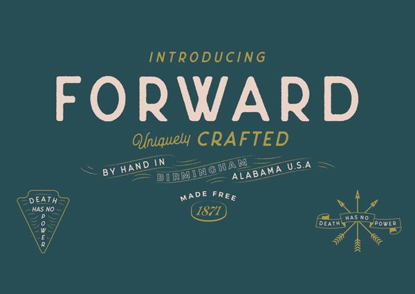 Forward Free Font