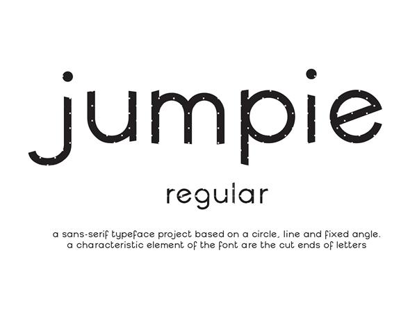Jumpie Free Font