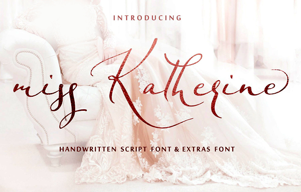 Miss Katherine Script Free Font