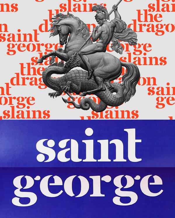 Saint George Free Font