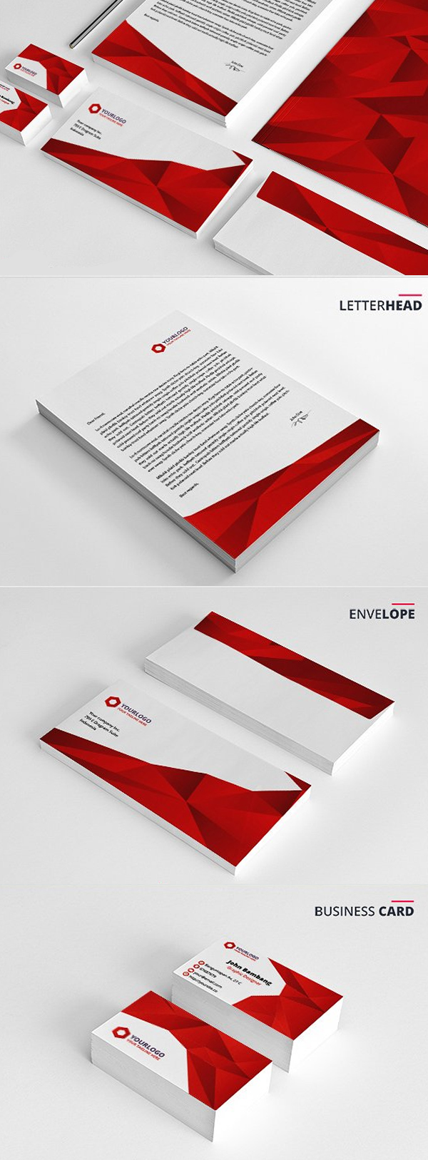 Modern Business Branding / Stationery Templates Design - 12