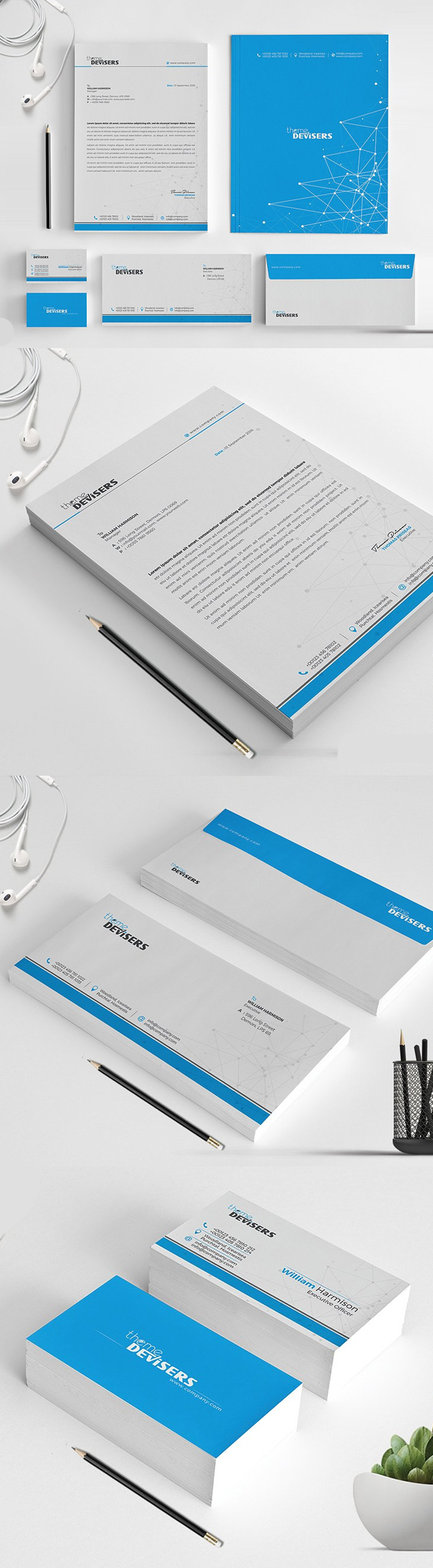 Modern Business Branding / Stationery Templates Design - 16