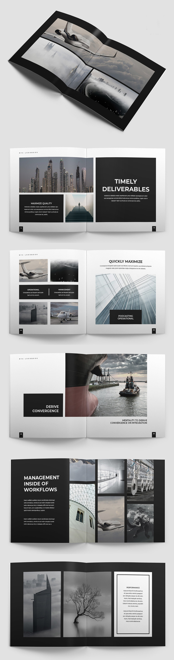Lookbook Brochure Template