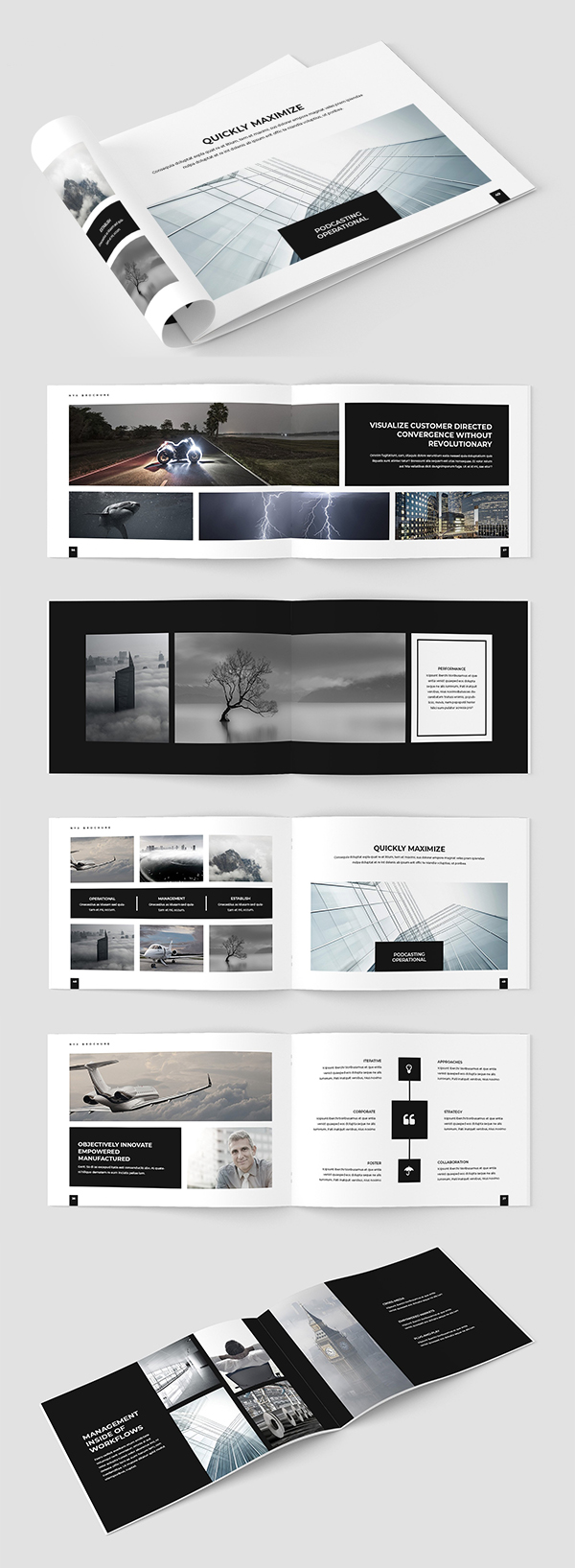 Creative InDesign Brochure Template