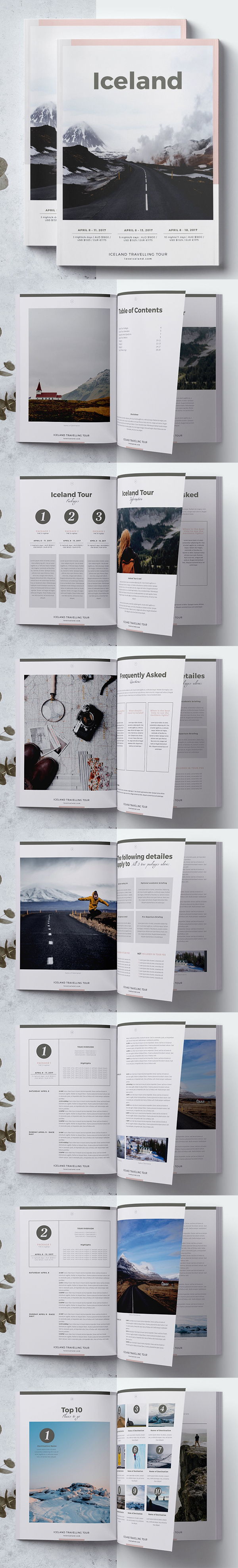 Travel Agency Guide / Brochure Template