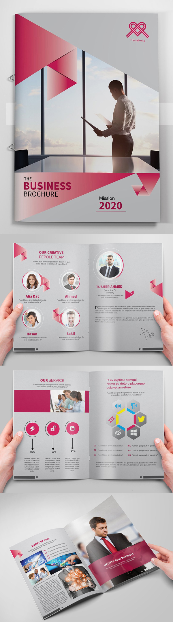 Corporative Business Brochures Template