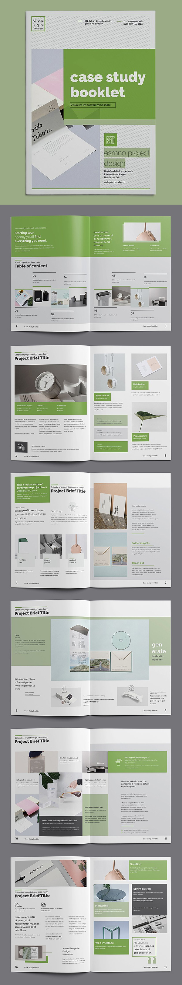 Modern Design & informative Brochure Template