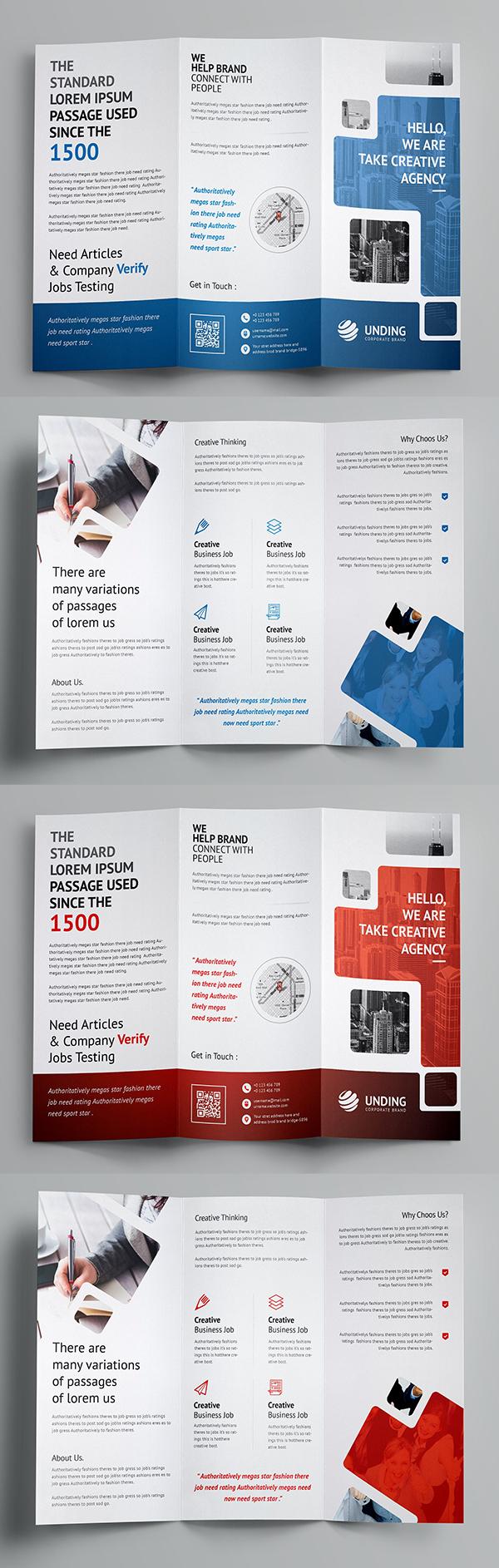 Smart Tri-Fold Brochure Template