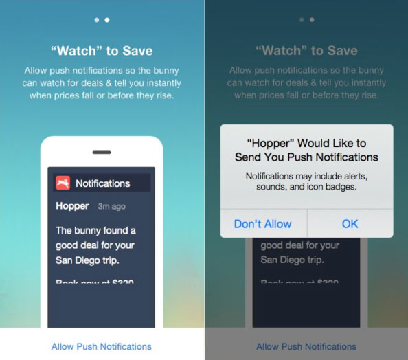 designing push notifications