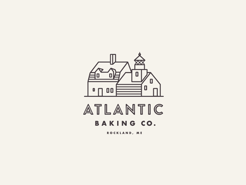50 Amazing Line Art Logo Design Ideas & Examples - 43
