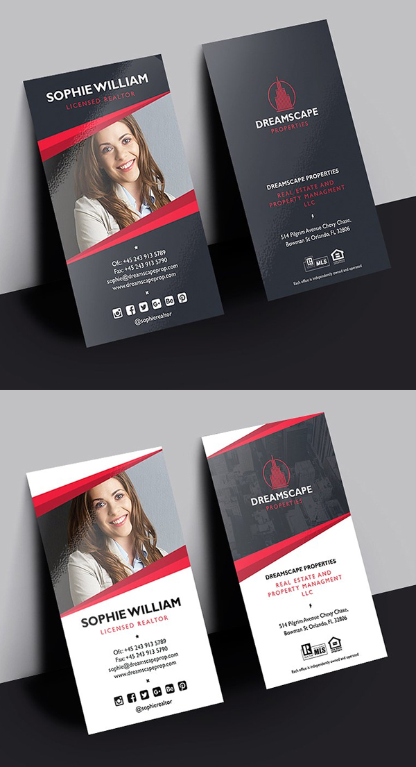 Creative Real Estate Business Card